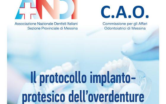 """Corso A.N.D.I. di Implantoprotesi """"Il protocollo implanto-protesico dell'overdenture"""""""
