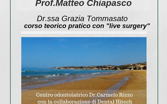 """Corso Teorico Pratico con """"Live Surgery"""""""